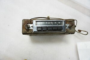 1955 Chevrolet Am 12v Push Button Radio 1955 1956 Belair Nomad a4