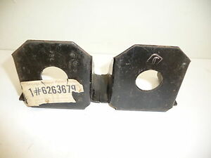 Pair Of Nos Oem Gm 1973 Monte Carlo Radiator Support Brackets