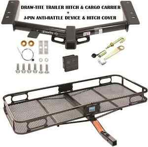 15 19 Ford Transit 150 250 350 Trailer Hitch Cargo Basket Carrier Silent Pin