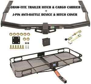 Trailer Hitch Fits 14 19 Toyota Highlander Cargo Basket Carrier Silent Pin