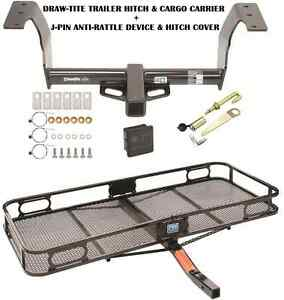 Trailer Hitch Cargo Basket Carrier Silent Pin Lock For 14 17 Subaru Forester