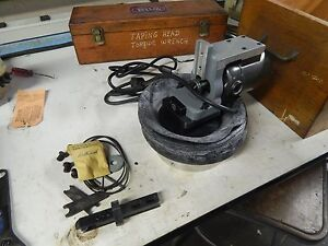 Moore Tools Dumore No 6069 Slot Grinder 115v Wood Case And Accessories