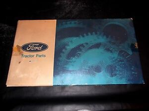 Nos Ford Fordson Major Diesel Power Major Complete Gasket Kit Ddn6608ad Nice