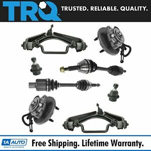 Trq Front Suspension Kit Lh Rh Front Set Of 8 For Explorer Aviator Mountaineer