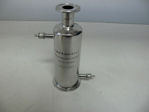Sartorius Stainless Steel Filter Housing Part Hg019si 3021 150 Psi 250f