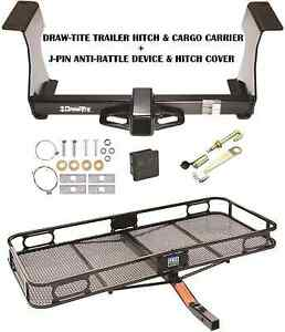 Trailer Hitch Cargo Basket Carrier Silent Pin Lock For 09 13 Subaru Forester
