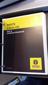 New Holland Eh27 b Crawler Excavator Parts Catalog
