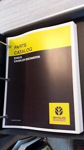 New Holland Eh50 b Crawler Excavator Parts Catalog
