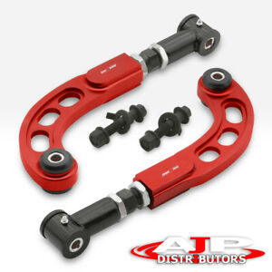 2005 2010 Scion Tc Racing Front Bolt Black Rear Camber Arm Kit Alignment Red