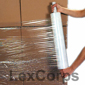 1 Roll 20 X 1000 Feet 80 Gauge Extended Core Stretch Wrap