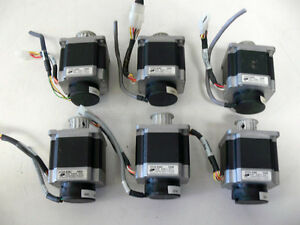 Lot Of 6 Applied Motion Products Ht23 538d Stepper Motor W Timing Pulley