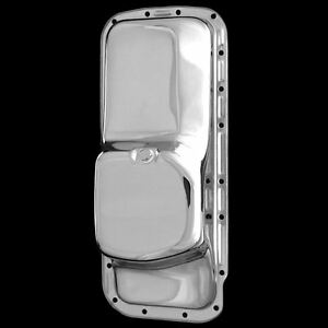 Chrome Oil Pan Fits Big Block Mopar 361 383 440 Dodge Engines