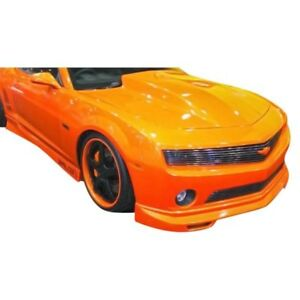 For Chevy Camaro 10 13 Front Bumper Lip Under Spoiler Air Dam Racer Style