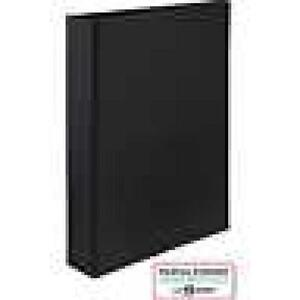 Martha Stewart Home Office Small Format Binders 1 Inch Black Model 18591