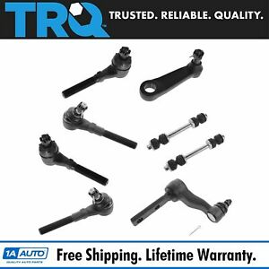 Steering Suspension Kit Lh Rh Front Set Of 8 For Ford Lincoln 4wd New