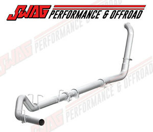 03 07 Ford 6 0l Powerstroke Diesel Mbrp 4 Aluminized Turbo Back Exhaust System