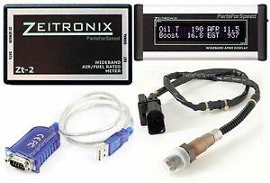 Zeitronix Zt 2 Wideband Afr With Silver Lcd Display Plus Serial Adapter