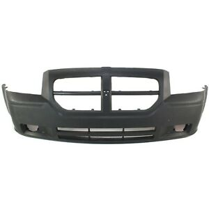 Front Bumper Cover For 2005 07 Dodge Magnum Primed With Fog Lamp Holes 4805768ab