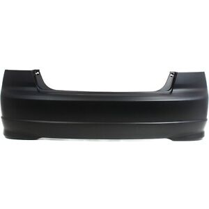 Rear Bumper Cover For 2004 2005 Honda Civic Sedan Primed Capa