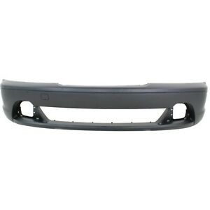 Front Bumper Cover For 2003 2006 Bmw 325ci W Fog Lamp Holes 330ci Primed