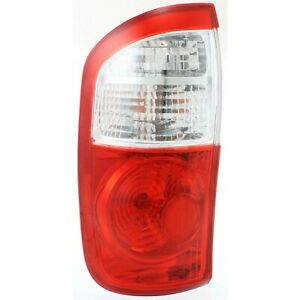 Tail Light For 2004 2006 Toyota Tundra Lh Crew Cab Pickup