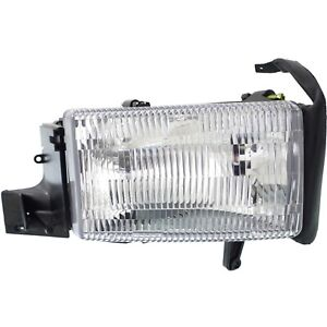 Headlight Headlamp Passenger Side Right Rh New For Dodge Ram Pickup Truck