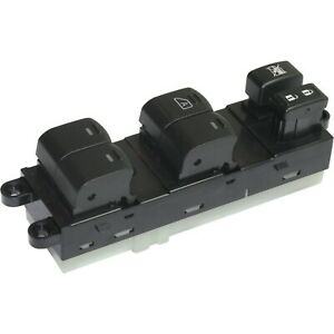 Window Switch For 2007 2011 Nissan Frontier 6 button Front Left Side