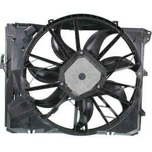 Radiator Cooling Fan For 06 12 Bmw 3 Series 3 0l Eng W O Turbo Automatic Trans