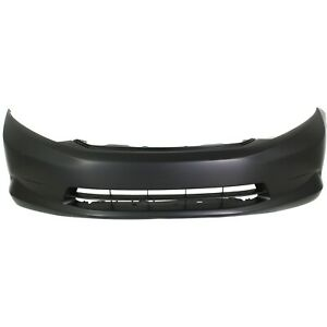 Front Bumper Cover For 2012 Honda Civic Sedan Primed