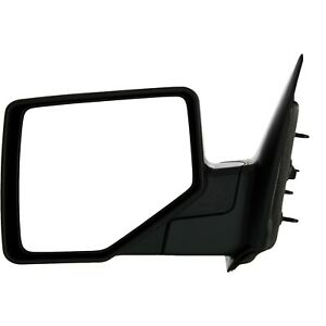 Mirror For 2006 2011 Ford Ranger Front Driver Side Textured Black Manual Folding