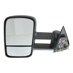 Manual Towing Mirror For 1999 2006 Chevrolet Silverado 1500 Left Telescopic