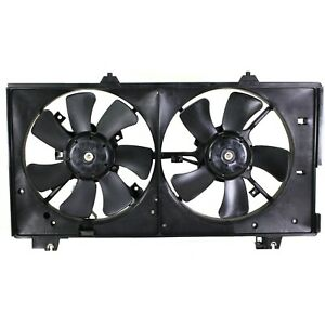 Radiator Cooling Fan For 2004 2008 Mazda 6 W o Control Unit 3 0l Eng