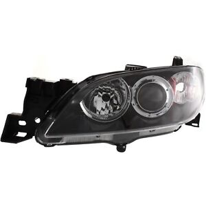 Headlight For 2004 2005 2006 2007 2008 2009 Mazda 3 Sedan Left