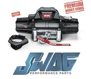 Warn Zeon 12 Series 12 000lb Recovery Winch Jeep Truck Suv 80 Ft Rope