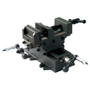 3 Heavy Duty Cross Slide Vise With Metric Dial 3900 2703
