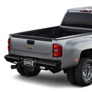 For Chevy Silverado 2500 Hd 11 14 Legend Series Full Width Black Rear Hd Bumper