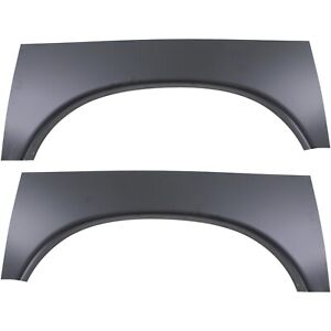 Wheel Arch Repair Panel For 2002 2009 Dodge Ram 1500 Set Of 2 Rear Lh And Rh