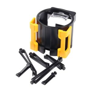 Air Vent Cup Holder Drink Cellphone Beverage Adjustable Car Truck Holders Yellow