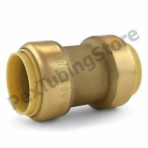 10 1 Sharkbite Style push fit Push To Connect Lead free Brass Couplings