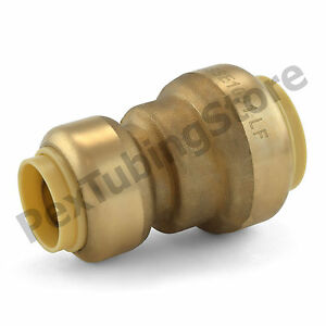 25 3 4 X 1 2 Sharkbite Style push fit Push To Connect Lf Brass Couplings