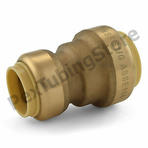10 1 X 3 4 Sharkbite Style push fit Push To Connect Lf Brass Couplings