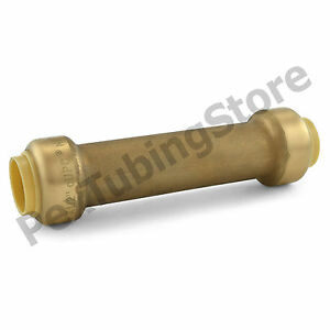 10 1 2 Sharkbite Style push fit Push To Connect Lf Brass Slip Couplings