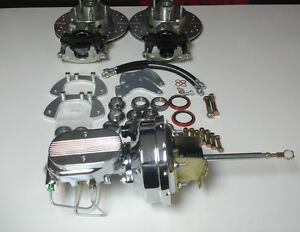 1961 1962 1963 1964 Ford Thunderbird Front Power Disc Brake Conversion Chrome