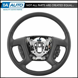 Oem 22947783 Ebony Steering Wheel For Chevy Gmc Suv Pickup Truck Brand New
