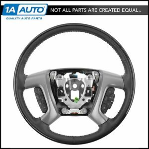 Oem 22947810 King Maple Ebony Heated Steering Wheel For Gm Suv Pickup Truck