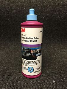 3m Perfect it 39062 Ultrafine Machine Polish 16oz