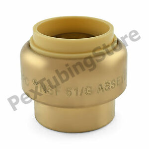 25 3 4 Sharkbite Style push fit Push To Connect Lf Brass Plugs caps