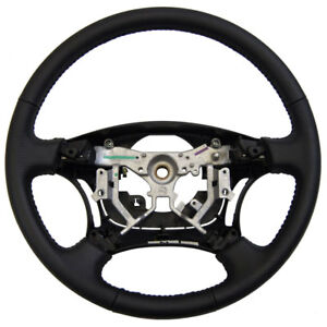 2006 2009 Toyota 4runner Steering Wheel Black Dimpled Leather New 451000w210b0