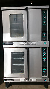 Duke Franklin 613 Double Stack Convection Oven Baker s Size In Natural Gas