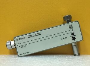 Agilent hp 773d 2 To 18 Ghz 20 Db Directional Coupler standard Unit Unused
